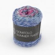 Lana Grossa Gomitolo Summer Tweed von Lana Grossa, Flieder/Royal/Marine/Pink/Grau/Anthrazit/Zyklam