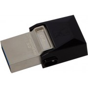 USB Flash 64GB 3.0 Kingston DTDUO3/64GB Data Traveler MicroDuo, do 70MB/s