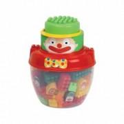 Set cuburi Clown Ecoiffier