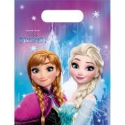 Disney Plastic feestzakjes Frozen