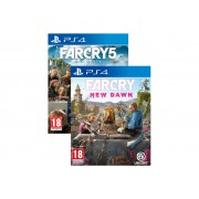 Far Cry 5 & Far Cry New Dawn set, Playstation 4 igre