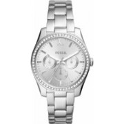 Fossil ES4314 Scarlette Multifunction Stainless Steel Watch Hybrid Watch - For Women