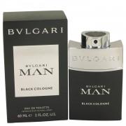 Bvlgari Man Black Cologne by Bvlgari Eau De Toilette Spray 2 oz