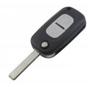 Carcasa cheie Renault Clio , Megane , Kangoo , Fluence , Modus ( lamela cu grovatura)