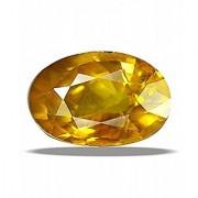 Jaipur Gemstone 9.50 ratti yellow sapphire(pukhraj)