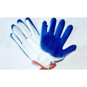 Pracovní rukavice polomáčené bavlněné