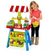 Детски комплект за игра - Щанд с плодове и зеленчуци, 506112310