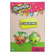 Valentines Day Paper Magic Shopkins Themed Valentine Exchange Cards - 32 count
