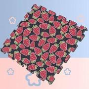 HUAPIN Delicious Fresh Strawberry Pink Decor Puzzle Mats para niños pequeños Infant Puzzle Play Mat 8 Piezas 60 X 60 X 1.2 cm Puzzle de Espuma Azulejos