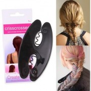 Lady Women Hair Braiding Tool Weave Braid Roller Hair Twist Styling Bun Maker DIY Hair Band