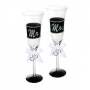 Mr & Mrs Champagneglas
