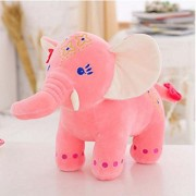New imported Plush Toys 30cm Elephant Doll Long Nose Elephants(PInk)