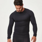 Myprotein Charge Compression Long Sleeve Top - XXL - Black