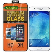 Adoniss Tempered Glass Screen Protector For Samsung Galaxy A8