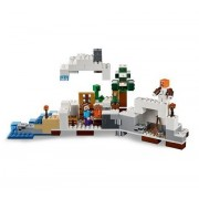 Lego Star Wars Lego Minecraft Premium First Snow Hideout Educational Toys 327 Pieces Build To Survive With The Snow Hideout Guaranteed!