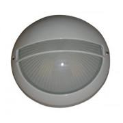 VT-331C LAMPA EXTERIOR CU GRILA ( 1xE27 max. 100W ) culoare: ALB