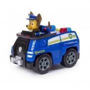 Figurina Patrula Catelusilor Chase masina de politie cu rachete