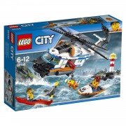 LEGO City kustwacht zware reddingshelikopter 60166