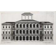 Palazzo de gli Ecc.mi Sig.ri Barberini posto nel Quirinale finito l'anno MDCXXX FERRERIO Pietro [ ]