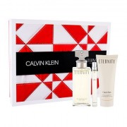 Calvin Klein Eternity confezione regalo eau de parfum 100 ml + lozione corpo 100 ml + eau de parfum 10 ml Donna