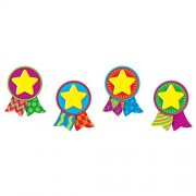 Trend Enterprises Star Medals Mini Accents Variety Pack (36 Piece)