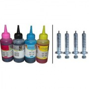 Green 100ml Refill Ink with Syringe for HP Canon Brothers Printer Cartridge