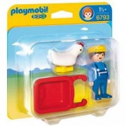 Комплект Плеймобил 6793 - Фермер с ръчна количка, Playmobil, 291066