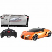 Rastar Radio-controlled Car Bugatti Veyron 1:18 Orange 53900