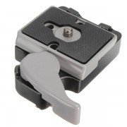 Meco 323 Quick Release Clamp Adapter 200PL-14 QR For Manfrotto Tripod