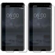 Deltakart Tempered Glass for Nokia 6 - Pack of 2