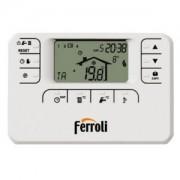 Ferroli Romeo W Cronotermostato Remoto 7gg Con Filo Settimanale Codice Prod: 013100xa