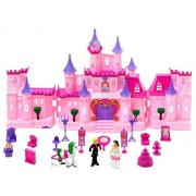Babytintin Big Size Musical Princess Castle Doll House with Accessories Toy for Baby Girl (29009)