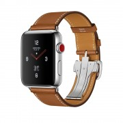 Умные часы Apple Watch Hermes Series 3 42mm with Single Tour Deployment Buckle Fauve Barenia MQMU2