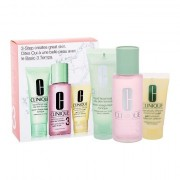 Clinique 3-Step Skin Care 3 darovni set vodica za čišćenje Clarifying Lotion 3 100 ml + sapun za čišćenje Liquid Facial Soap Oily Skin 50 ml + hidratantna emulzija DDMGel 30 ml