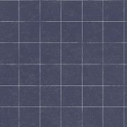 Tapet grile matematice albastre vintage Oxford Archives II