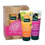 Kneipp Body Wash confezione regalo doccia gel Orange 200 ml + doccia gel Blackberry 200 ml donna