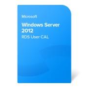 Microsoft Windows Server 2012 RDS User CAL, 6VC-01755 електронен сертификат