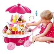 Sweet Shopping Cart for Little Ones with 39 pcs