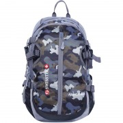 Swisstek Adventure Camouflage Rucksack backpack 40 L Laptop Backpack (Grey)