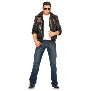 Leg Avenue Top Gun Bomber Jacket Set Costume Brown 83703