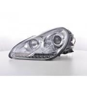 FK-Automotive phares Daylight LED look DRL Porsche Cayenne 9PA année 02-06 chromé