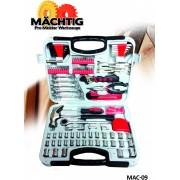 Machtig Set ručnog alata u koferu MAC-09