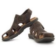 Clarks Men Ebony Nubuck Sports Sandals