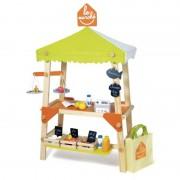 Piata de jucarie din lemn cu accesorii House of Toys