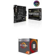 ASUS TUF B450M-Plus Gaming Motherboard and AMD Ryzen 3 3200G 4-Core