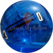 Ganesh Sky Balloon 3.5 feet PVC Inflatable Body Zorbing Ball