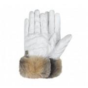 Brekka Guanti donna Pad Eco Glove, Taglia: M, Per adulto Donna, Bianco, BRF14 F142 WHT