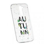 Husa Silicon Transparent Slim Toamna 145 Huawei MATE 9 Lite