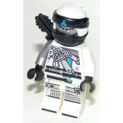 njo458 Minifigurina LEGO Ninjago Hunted-Zane njo458