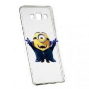 Husa de protectie Minion Vampire Samsung Galaxy A3 rez. la uzura anti-alunecare Silicon 204